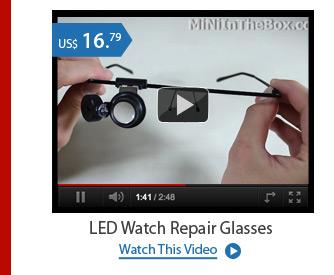 LED Watch Repair Glasses