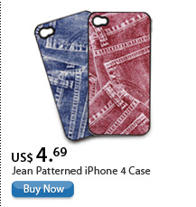 Jean Patterned iPhone 4 Case