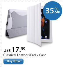 Classical Leather iPad 2 Case