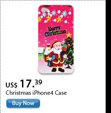 Christmas iPhone4 Case