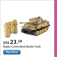 Radio Controlled Battle Tank