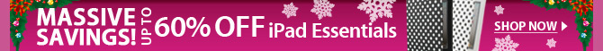 Massive Savings! Up To 60% OFF iPad Essentials
