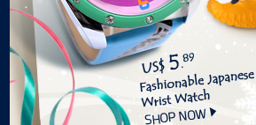 Fashionable Japanese Wrist Watch
