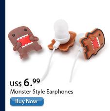 Monster Style Earphones