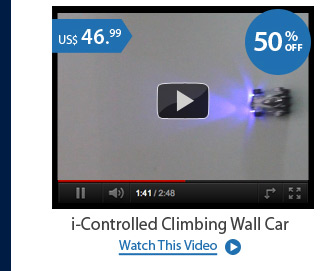 i-Controlled Climbing Wall Car
