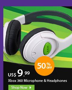 Xbox 360 Microphone & Headphones