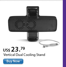Vertical Dual Cooling Stand