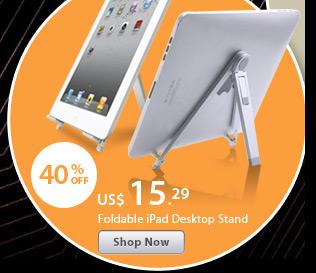 Foldable iPad Desktop Stand