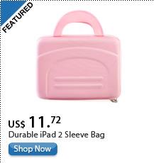 Durable iPad 2 Sleeve Bag