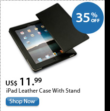 iPad Leather Case With Stand