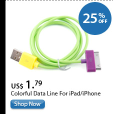 Colorful Data Line For iPad/iPhone