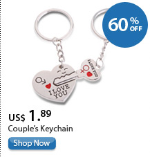 Couple's Keychain