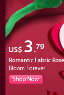 Romantic Fabric Rose