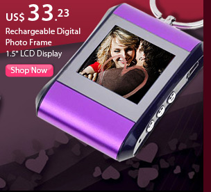 Rechargeable Digital Photo Frame