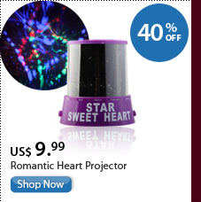 Romantic Heart Projector