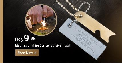 Magnesium Fire Starter Survival Tool