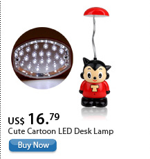 Cute Cartoon LED Desk Lamp