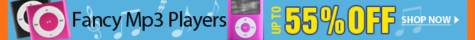 Fancy Mp3 Players Up To 55% OFF