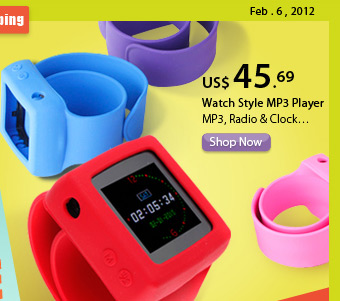 Watch Style MP3 Player