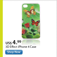 3D Effect iPhone 4 Case