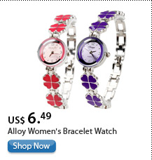Alloy Women's Bracelet Watch