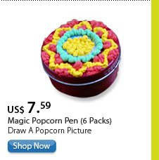Magic Popcorn Pen (6 Packs)