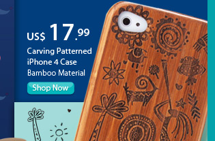 Carving Patterned iPhone 4 Case