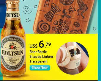Beer Bottle Shaped Lighter