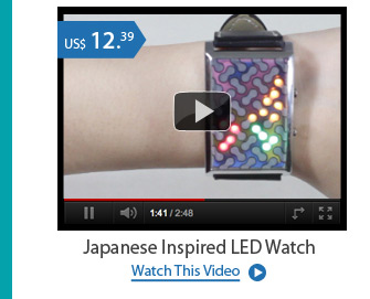 Japanese Inspired LED Watch
