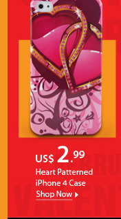 Heart Patterned iPhone 4 Case