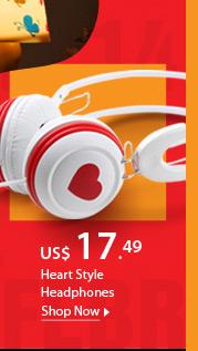 Heart Style Headphones