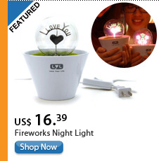 Fireworks Night Light
