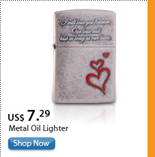Metal Oil Lighter