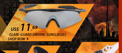 Glare-Guard Driving Sunglasses