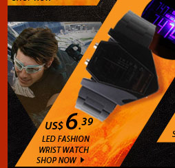 LED Fashion Wrist Watch