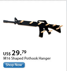 M16 Shaped Pothook Hanger