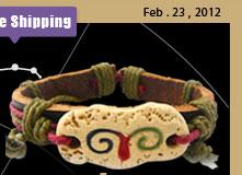 Retro Pottery Aries Bracelet