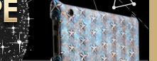 Star Engraved iPad 2 Case