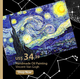 Handmade Oil Painting  Vincent Van Gogh