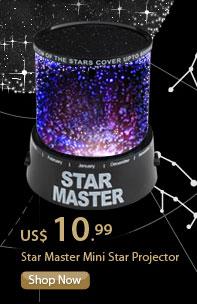Star Master Mini Star Projector