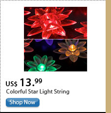 Colorful Star Light String