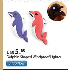 Dolphin Shaped Windproof Lighter