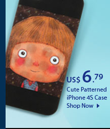 Cute Patterned iPhone 4S Case