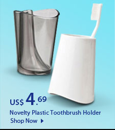 Novelty Plastic Toothbrush Holder