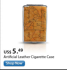 Artificial Leather Cigarette Case