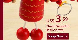 Novel Wooden Marionette
