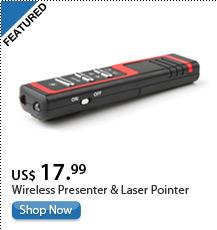 Wireless Presenter & Laser Pointer