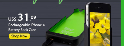 Rechargeable iPhone 4 Battery Back Case