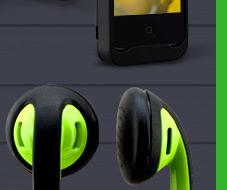 Sporty Style Earphones