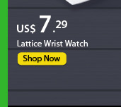 Lattice Wrist Watch